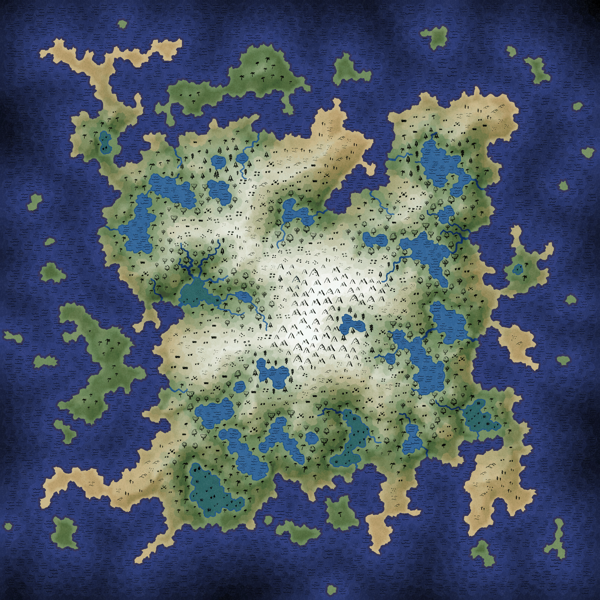 Blobs in games updating mapgen2 back in 2010 when i wrote a procedural map generator based on voronoi polygons instead of perlin noise the goal was to produce volcanic islands with a gumiabroncs Images