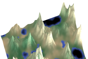 With Either Biomes Or Gradients One Noise Value Doesn T Produce Enough Diversity But Two Is Pretty Good